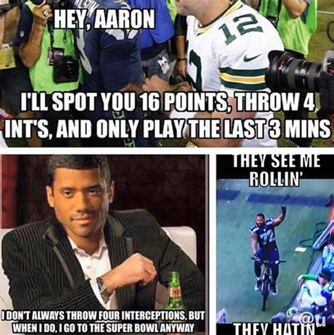 Seahawk Meme - seattle seahawks at super bowl the memes you need to see