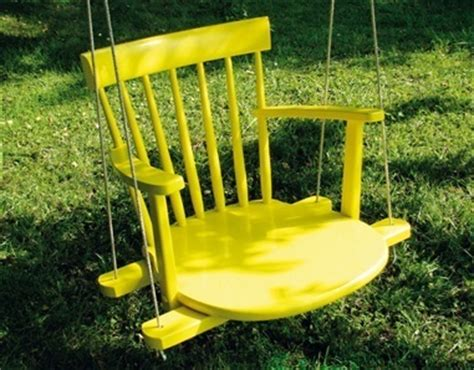 rocking chair swing roundup diy outdoor furniture ideas 187 curbly diy design