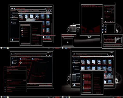 windows 7 themes black glass free download windows 7 theme black glass 2 by tono3022 on deviantart