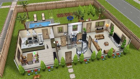 Sims House Ideas And Sims House On Pinterest