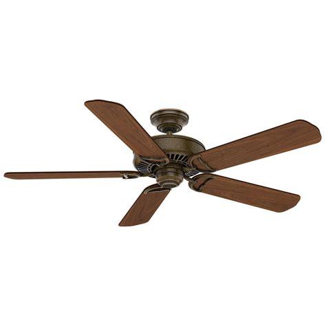 home depot indoor ceiling fans hton bay lillycrest 52 in indoor outdoor aged bronze