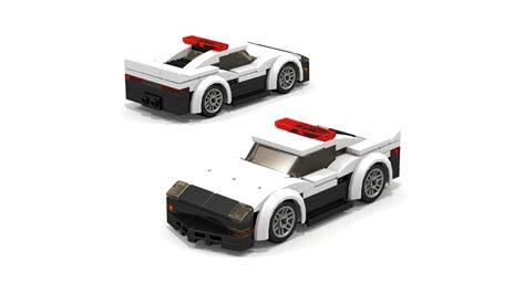 lego ferrari tutorial lego moc japanese police sports car tutorial youtube