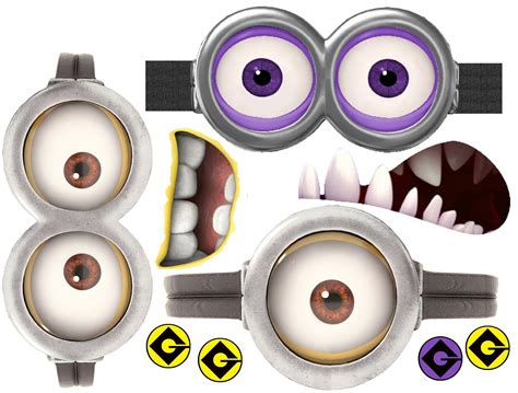 minion cutout template 7 best images of despicable me minion printable
