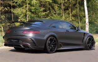 Mercedes Amg Coupe Mansory Mercedes Amg S 63 Coupe Black Edition Revealed