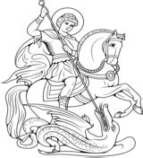 st george s day coloring pages free coloring pages