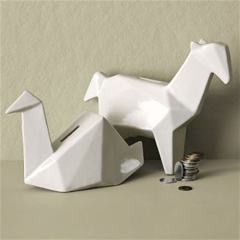 Origami Bank - 15 creative origami inspired products and designs