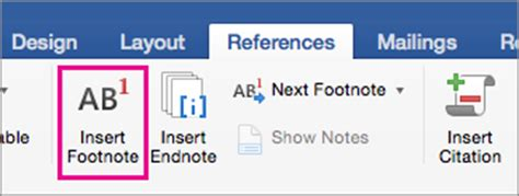 format footnotes word mac 2016 add footnotes and endnotes in word 2016 for mac word for mac