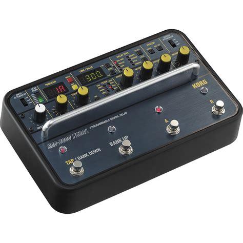 korg sdd 3000 programmable digital delay pedal sdd3000pdl b h