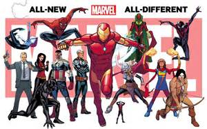 All Marvel Marvel Announces All New And All Different Marvel Universe