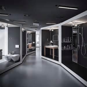 Furniture Arrangement Tool aquamart sanitary showroom by fl 211 architects budapest