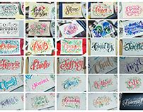 doodle name jomar colorful memories on behance