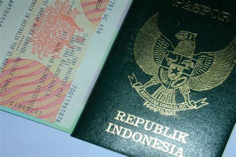 syarat membuat paspor wisata paspor indonesia bagi in com