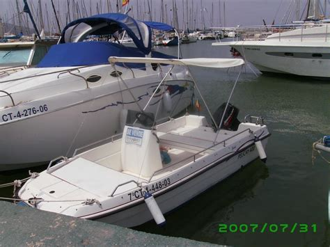 pelican fibreglass boat pelican 400 in murcia power boats used 56686