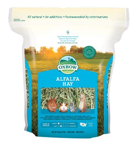Alfalfa Hay Oxbow oxbow animal health alfalfa hay