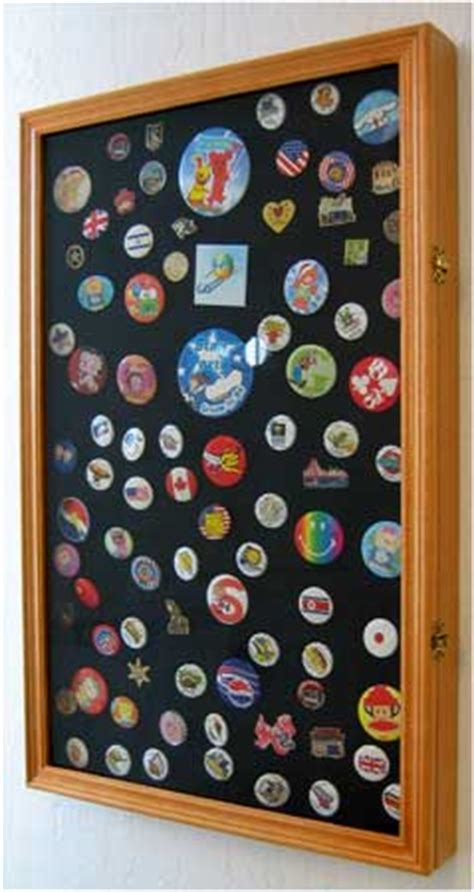 Display To Hold Multiply Matted Pieces - pin and brooch display cabinet pin display