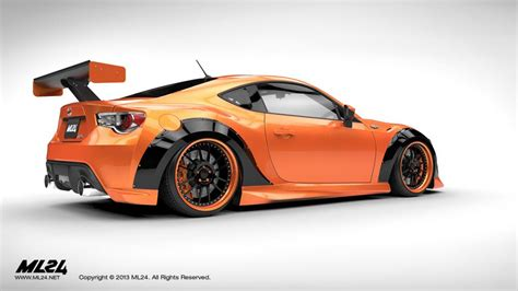 kit scion frs wide kit ps garage