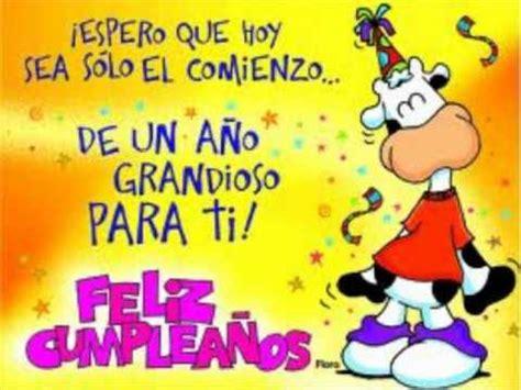 imagenes de cumpleaños feliz cumplea 241 os feliz salsa youtube