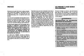 2017 Nissan Np300 Manual Del Propietario In Spanish