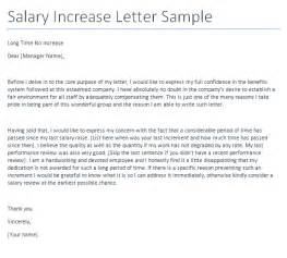 Request For Salary Increase Template by Sle Application Letter For Salary Increase Cover