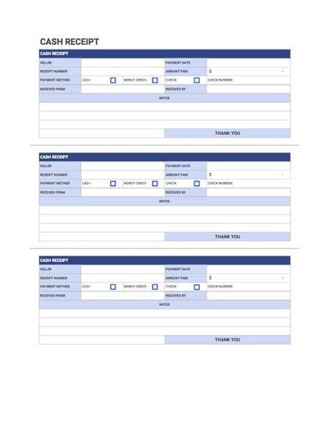 Cash Receipt Template Free Download From Invoice Simple Sheets Receipt Template