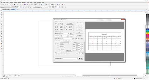 tutorial kalender coreldraw tutorial membuat kalender dengan coreldraw x7 coreldraw