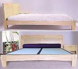 Solid Platform Bed Frame No Slats Platform Beds A Collection Of Home Decor Ideas To Try Solid Wood Bed Frame Wood Bed Frames
