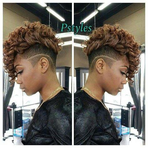curly hairstyles urban stylish sassy and urban mohawk the mane pinterest