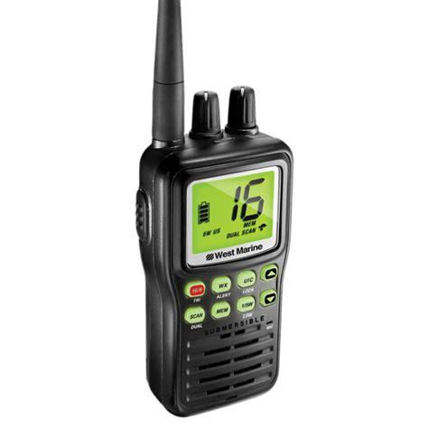 boat gps west marine west marine vhf85 handheld vhf radio west marine