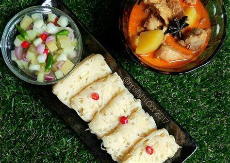 resep roti jala kari ayam oleh rinafajh cookpad