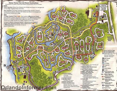 fort wilderness map disney musings the cabins at disney s fort wilderness resort