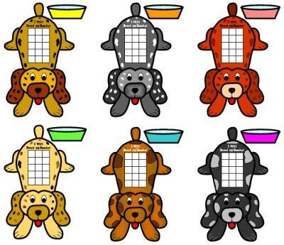 free sticker chart templates dog shaped reading sticker charts for incentive and sticker charts uniquely shaped sticker