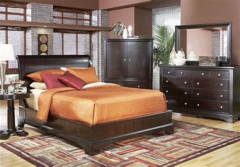 bedroom sets dawson cherry queen size platform look 1000 images about furniture wish list on pinterest