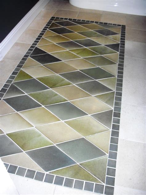 Rug Tiles by How To Create An Inlaid Tile Rug How Tos Diy