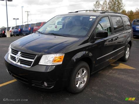 black dodge caravan 2010 brilliant black pearl dodge grand caravan sxt