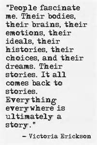 Victoria Erickson I Love People Quote