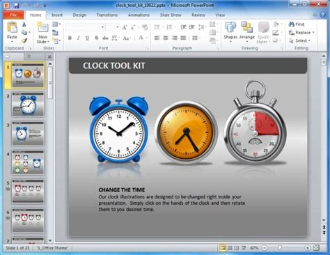 Awesome Countdown Powerpoint Templates Powerpoint Timer Free