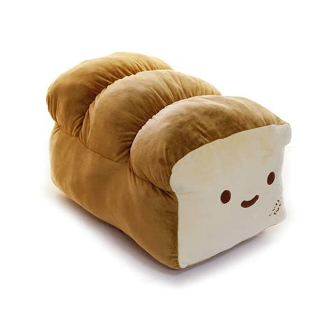 Plush Pillows Japanese Anime Throw Pillow Loaf Bread Cotton Food