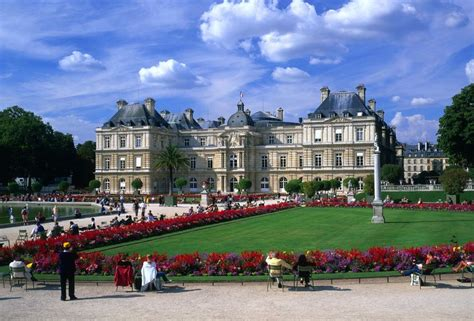 French Chateau Style by Jardin Du Luxembourg Historical Facts And Pictures The