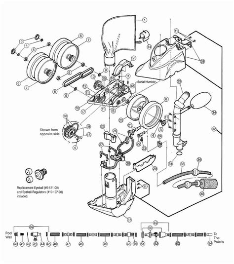 polaris parts diagram polaris 360 exploded diagram swimming pool parts filters