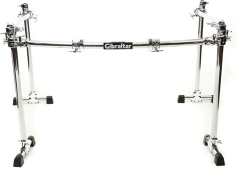 Rack Drum Gibraltar gibraltar gcs 450c road series chrome 4 post drum rack