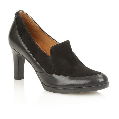naturalizer angie court shoes in black lyst