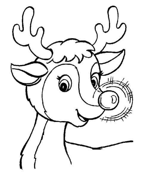 rudolph coloring page free rudolph color pages coloring home