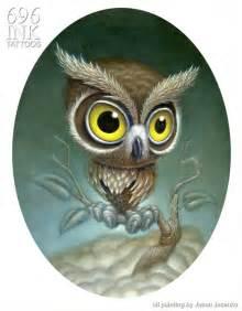 owl painting by jasonjacenko on deviantart