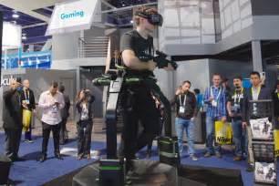 The virtuix omni vr treadmill made us all hot and sweaty ars