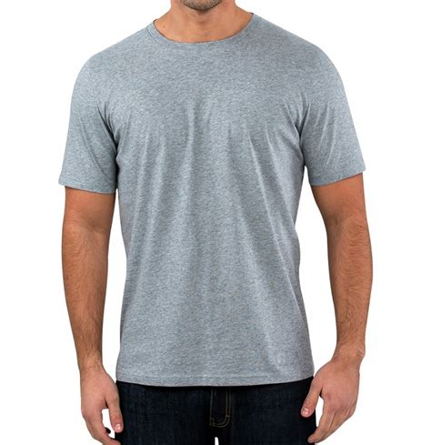 S S T Shirt s grey t shirts soft grey melange cotton t shirts