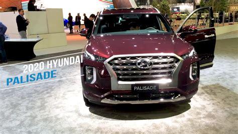 hyundai palisade   detroit auto show youtube