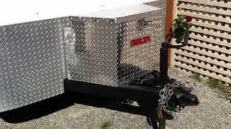 cargo trailer conversion budget toy hauler youtube