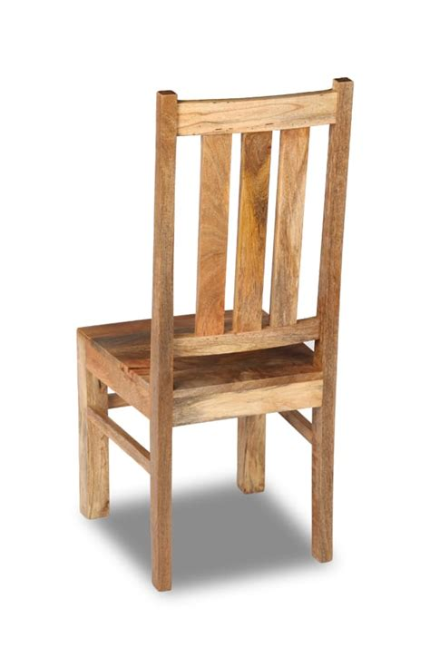 mango light dining chair solid wood furniture