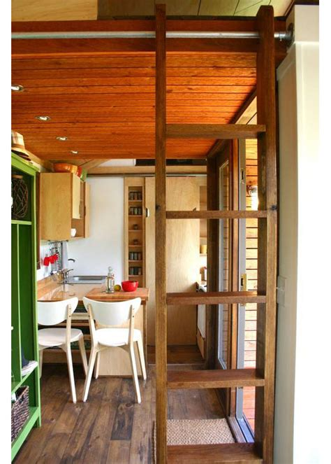 rustic modern tiny house  tall people idesignarch