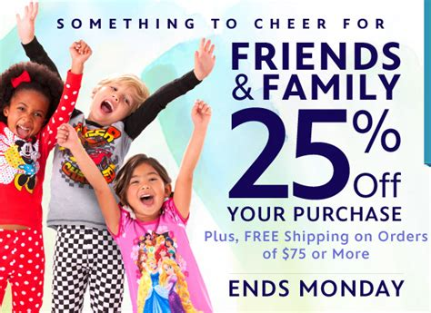 Shop Hm Friends And Family This Weekend by The Disney Store Friends Family Sale 25 Any
